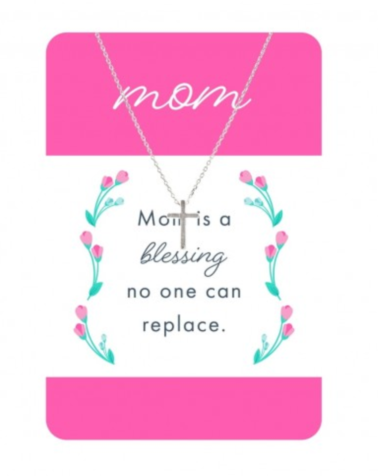 Mothers Day Necklace Card