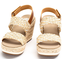 Tan Arula Wedges - YellowBox