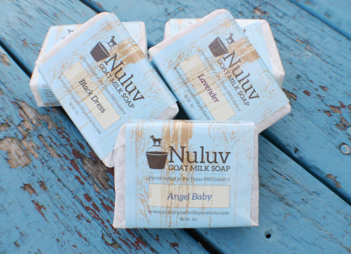 Goat Milk Scented Soap Bar - Nuluv