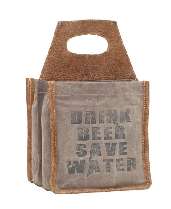 SAVE WATER BEER CADDY
