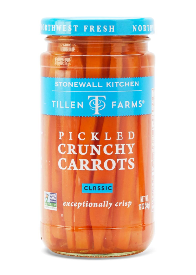 Pickled Crunchy Carrots