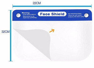 Lightweight Face Shield w/ Adjustable Elastic Band