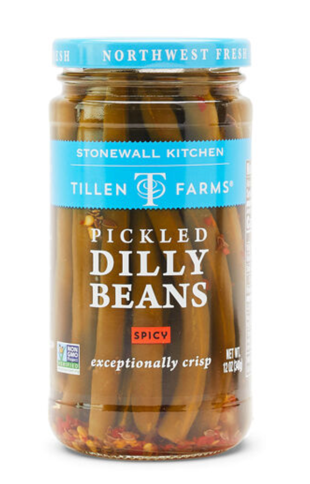 Pickled Hot & Spicy Dilly Beans