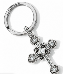 Alcazar Cross Key Fob - Brighton