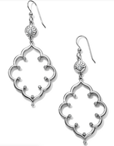 Journey To India Lotus French Wire Earrings - Brighton