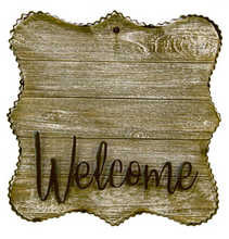 "MINI GALLERY ""WELCOME"" DISPLAY - The Roundtop Collection"