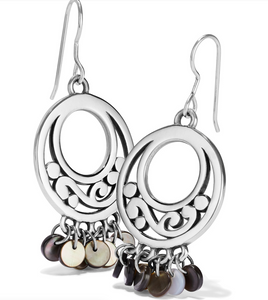 Contempo Shell French Wire Earrings - Brighton