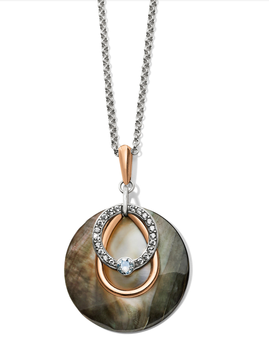 Neptune's Rings Shell Short Necklace - Brighton