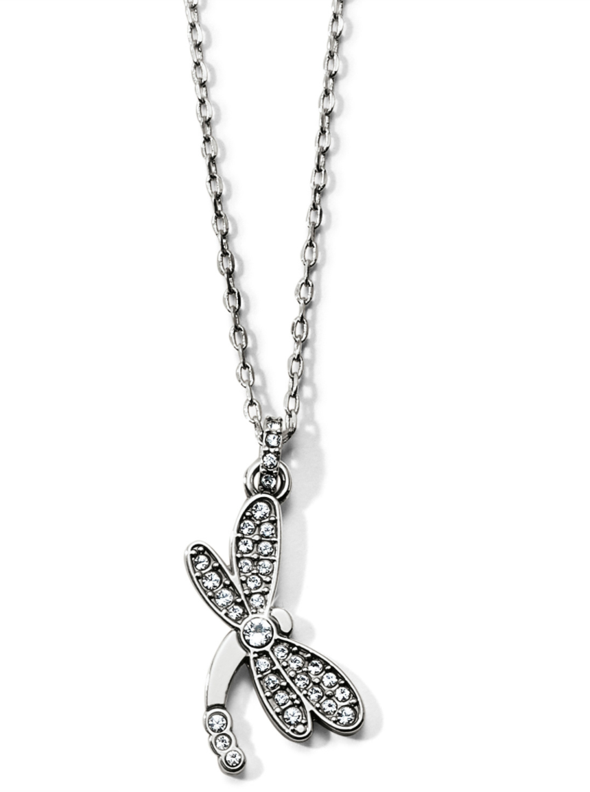 Flora Dragonfly Necklace - Brighton