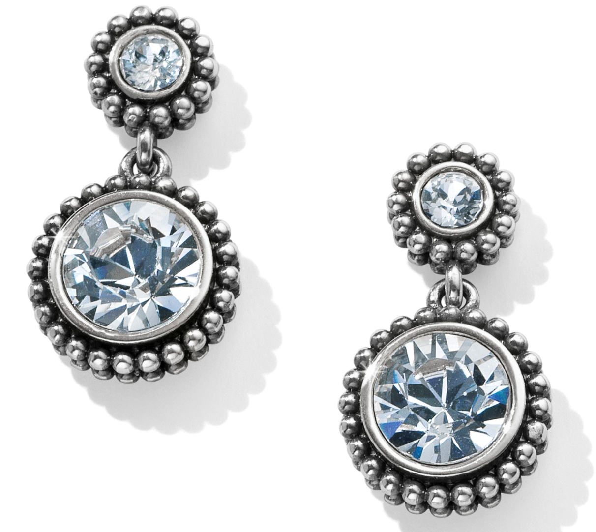 Twinkle Duo Post Drop Earrings - Brighton