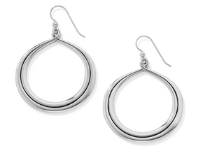 Interlok Circle French Wire Earrings - Brighton