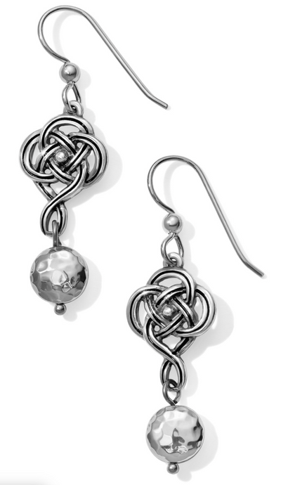 Interlok Knot French Wire Earrings - Brighton