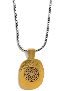 Ferrara Artisan Two Tone Pendant Necklace - Brighton