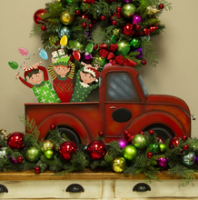 PILE OF MERRY & BRIGHT ELVES - The Roundtop Collection