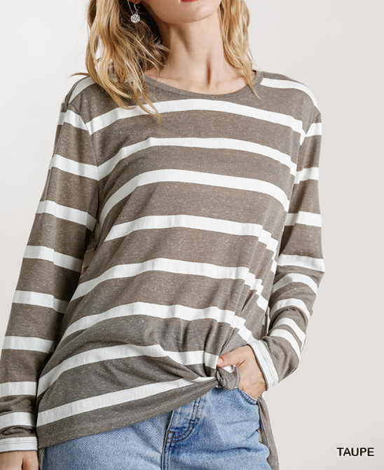 Comfy & Casual Striped Top
