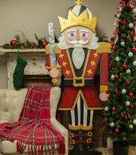 GIANT GOOD LUCK NUTCRACKER - The Roundtop Collection
