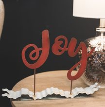 "RED ""JOY"" RIBBON - The Roundtop Collection"