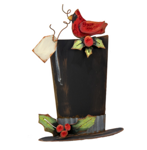 TALL CARDINAL TOP HAT - The Roundtop Collection