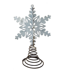 SMALL SNOWFLAKE STAR BOTTLE TOPPER - The Roundtop Collection