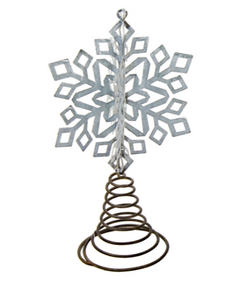 LARGE SNOWFLAKE BOTTLE TOPPER - The Roundtop Collection