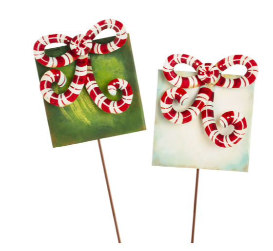 CANDY CANE GIFT BOXES - The Roundtop Collection