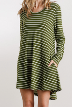 The Perfect Casual Striped Dress