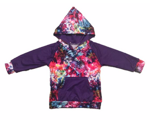 Purple Perfection Tie Dye Hoodie