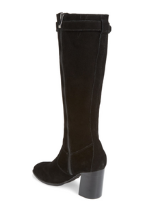 Cornish Knee High Boots with Buckle by Sbicca