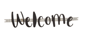 "BENDABLE ""WELCOME"" RIBBON - THE ROUND TOP COLLECTION"