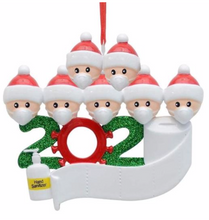 2020 Quarantine Family Ornament