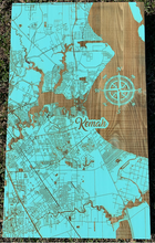 Kemah Fire and Pine Wood Map