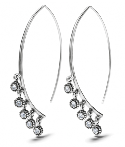 Twinkle Droplet Wire Earrings