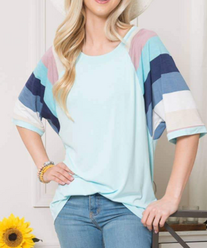 Colors Of Summer Colorblock Top