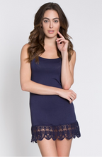 CAMI WITH CROCHET HEMLINE