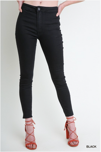 High Rise Stretch Jeggings