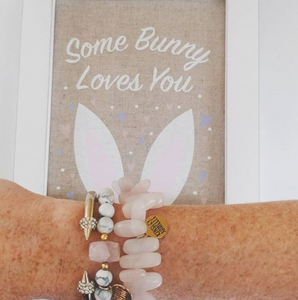 Melbern Collection - Pink Bunny Bracelet