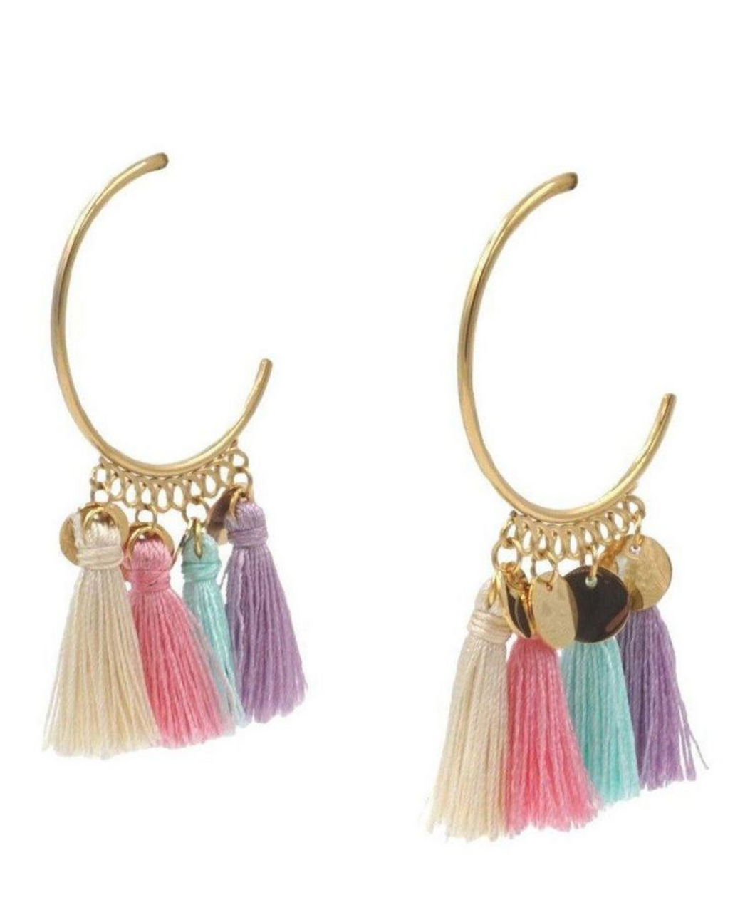 TASSEL COLLECTION - GOLD CHIKA EARRINGS