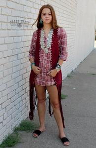 LORETTA PLAID TUNIC- CRAZY TRAIN CLOTHING
