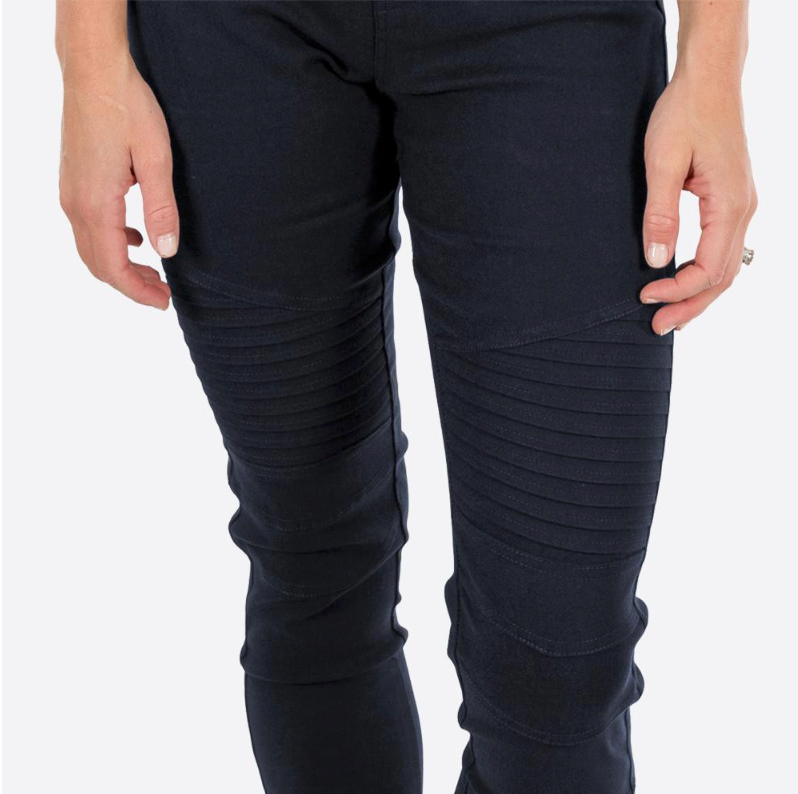 Moto Navy Jeggings