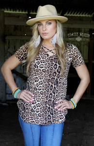 CROSS ROADS *LEOPARD*- Crazy Train Clothing