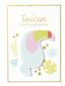 A Toucan Of Appreciation Memo Pad Card