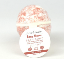 Fizzy Navel Bath Bombs