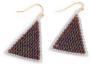 Erimish Gameday Triangle Earrings