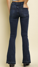 High Waist 5 Pocket Denim Flare Jeans