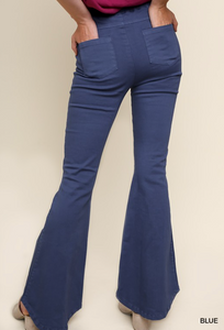 High Waist Flare Stretch Jeans
