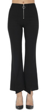 KanCan Black Zipper Dressy Pants