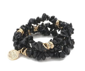 COAL BRACELET- CLUSTER COLLECTION