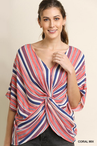 Tropic Knotty Tie Top