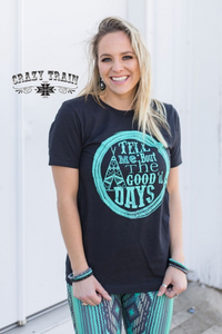 GOOD OL' DAYS TEE - Crazy Train Clothing