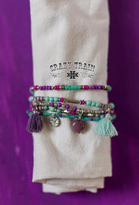 NORTHERN LIGHTS BRACELET STACK - Crazy Train